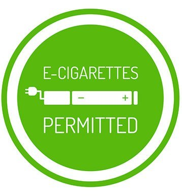 E-cigarettes permitted